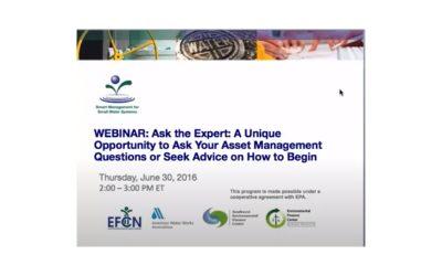 Ask the Expert: Asset Management 2016